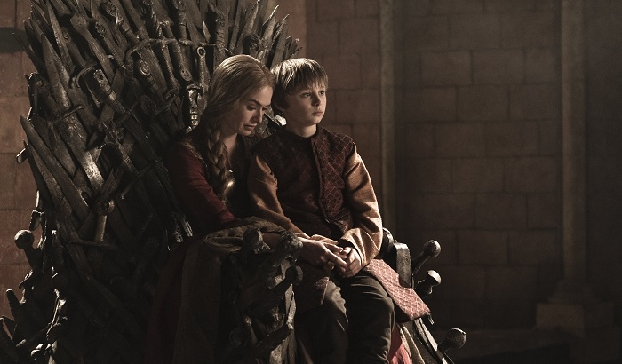 Cersei and Tommen Blackwater