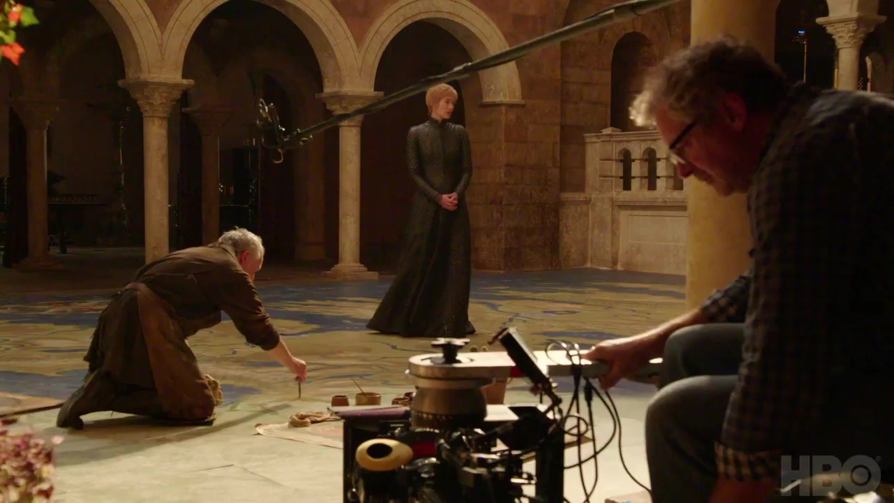 Cersei map room artist
