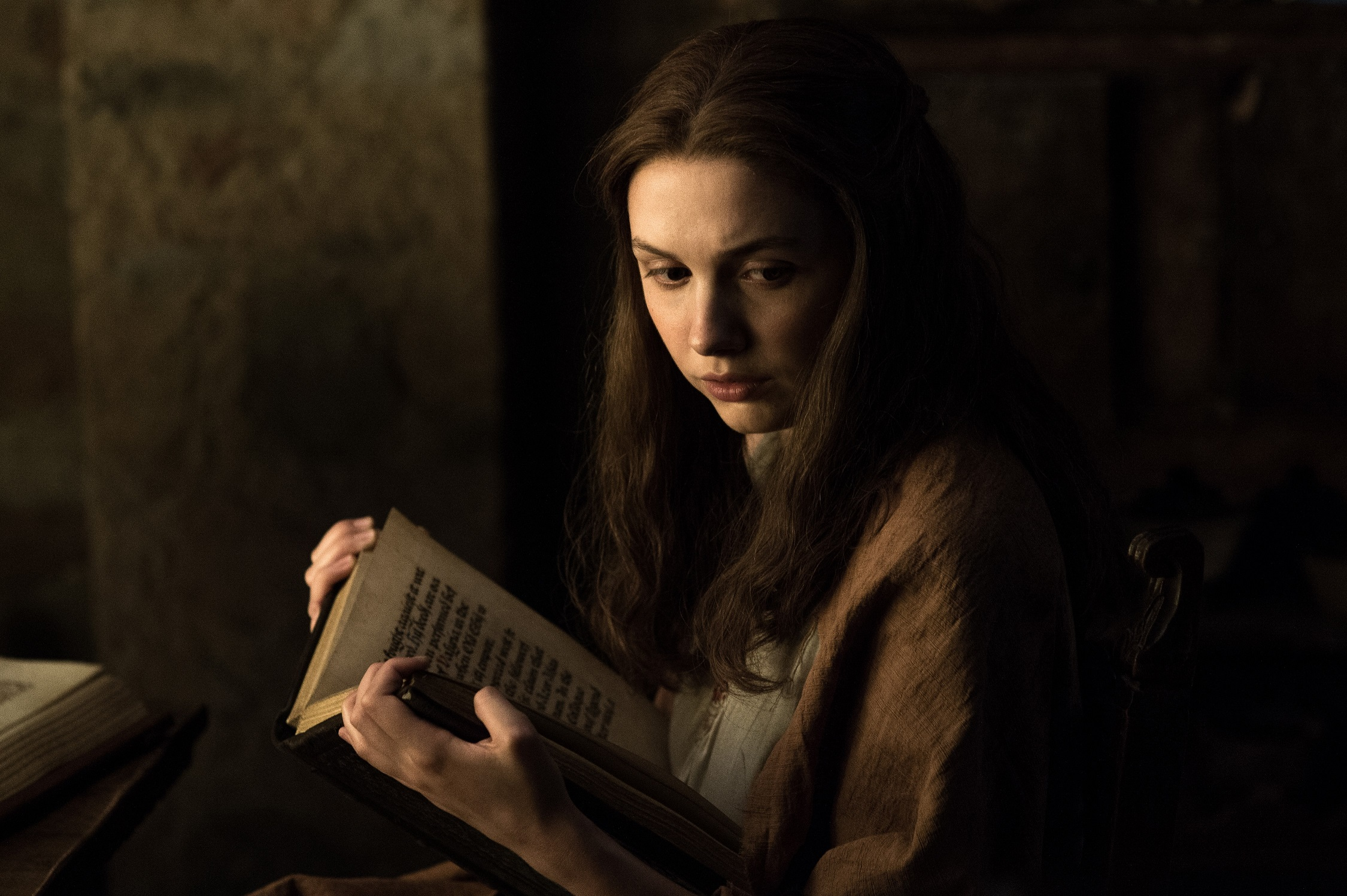 Hannah Murray as Gilly, in Oldtown. Photo: HBO