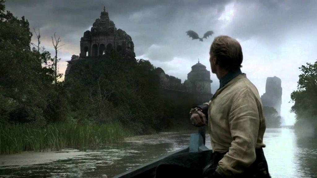Jorah Drogon Ruins of Valyria