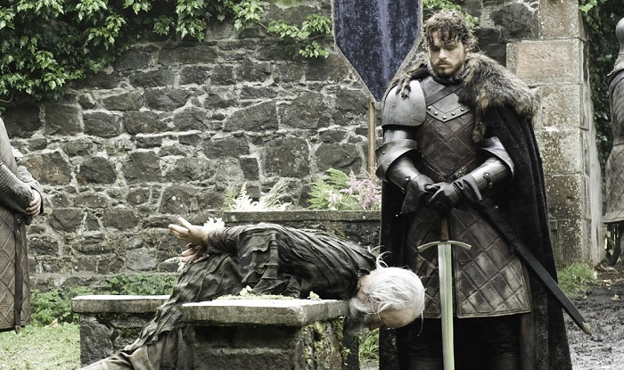 Robb's execution of Rickard Karstark