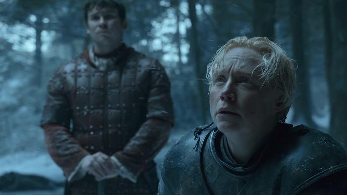 Sansa accepts Brienne's oath