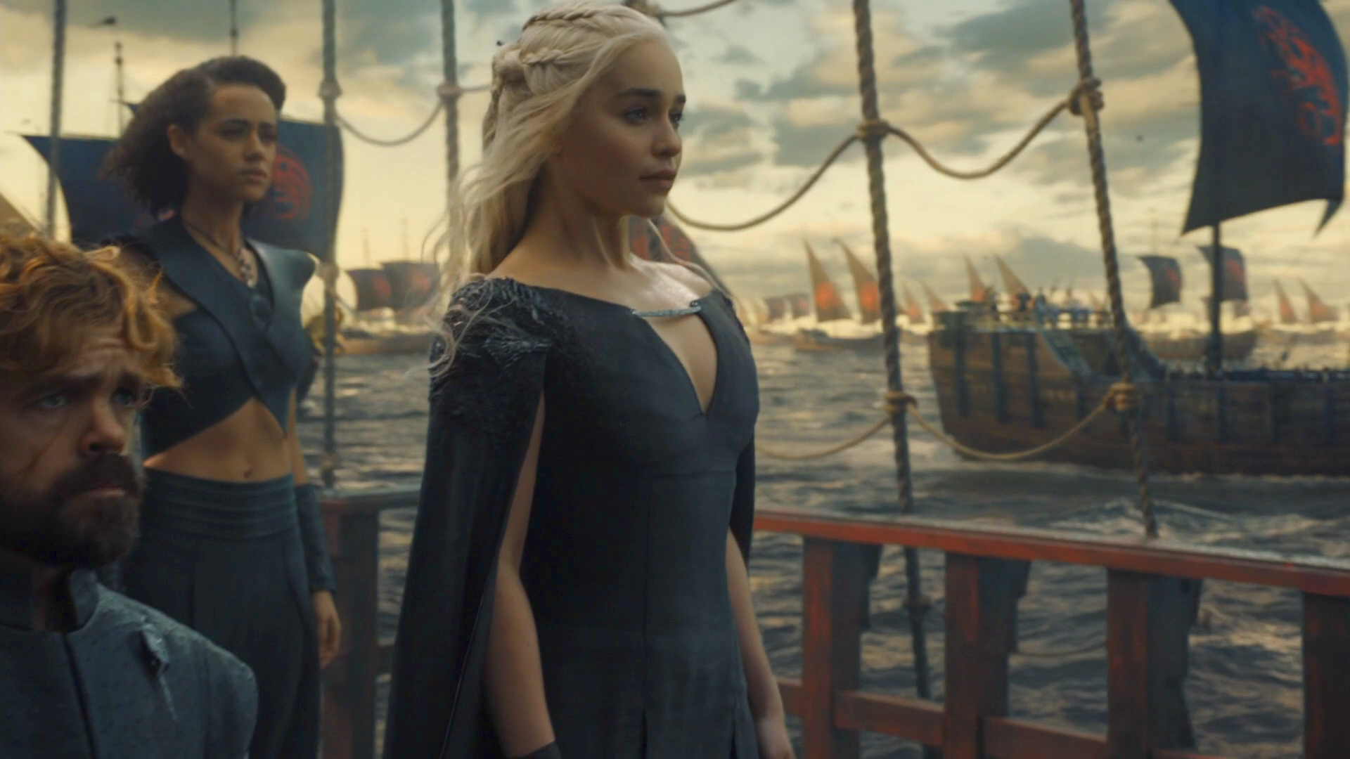 Targaryen Fleet, Daenerys, Tyrion, Missandei, The Winds of Winter