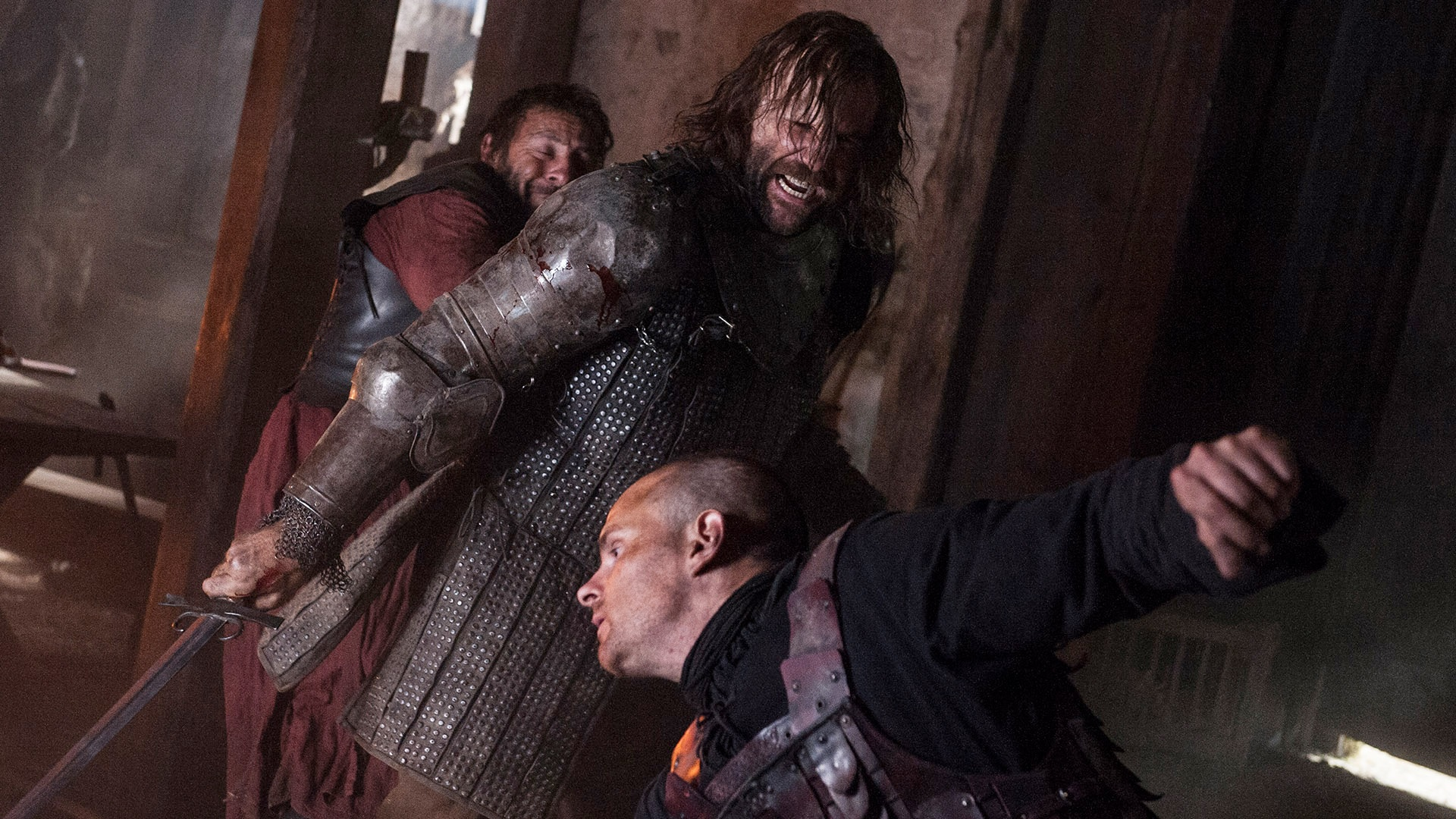 The Hound fight in Two Swords