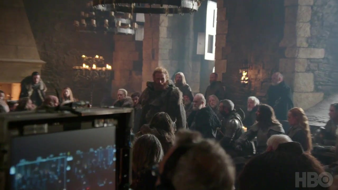 Tormund and Northern crowd