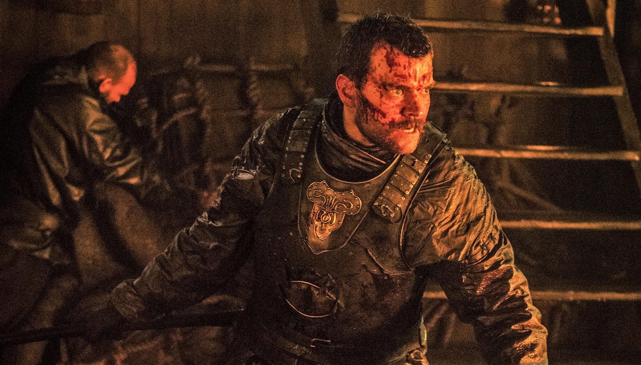 "Euron Greyjoy (Pilou Asbæk) unleashes his mad fury in season seven's ""Stormborn"""