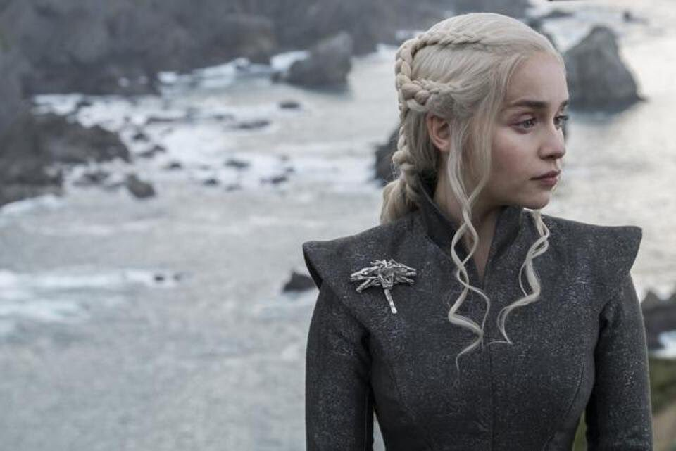 Emilia Clarke as Daenerys Targaryen. Photo: HBO