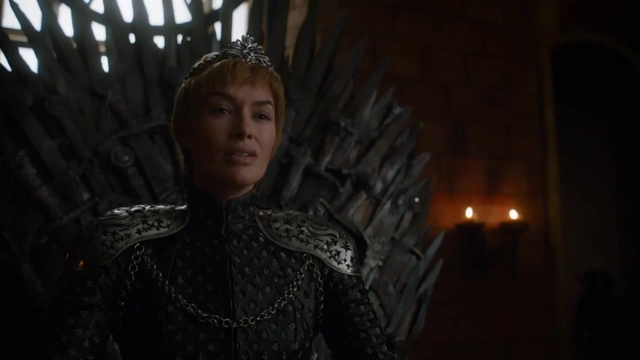 Cersei on the Throne