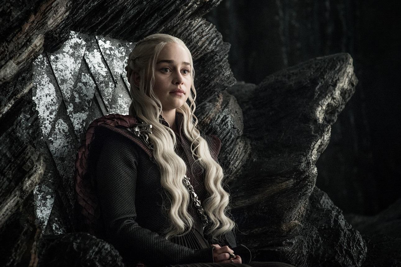 Daenerys Targaryen on Game of Thrones