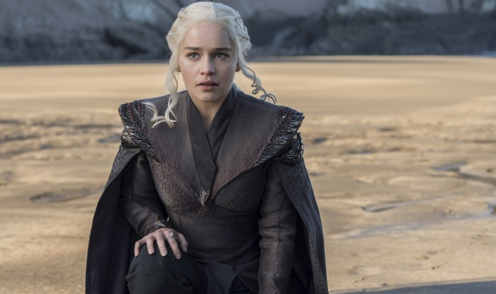 Daenerys landing in Dragonstone
