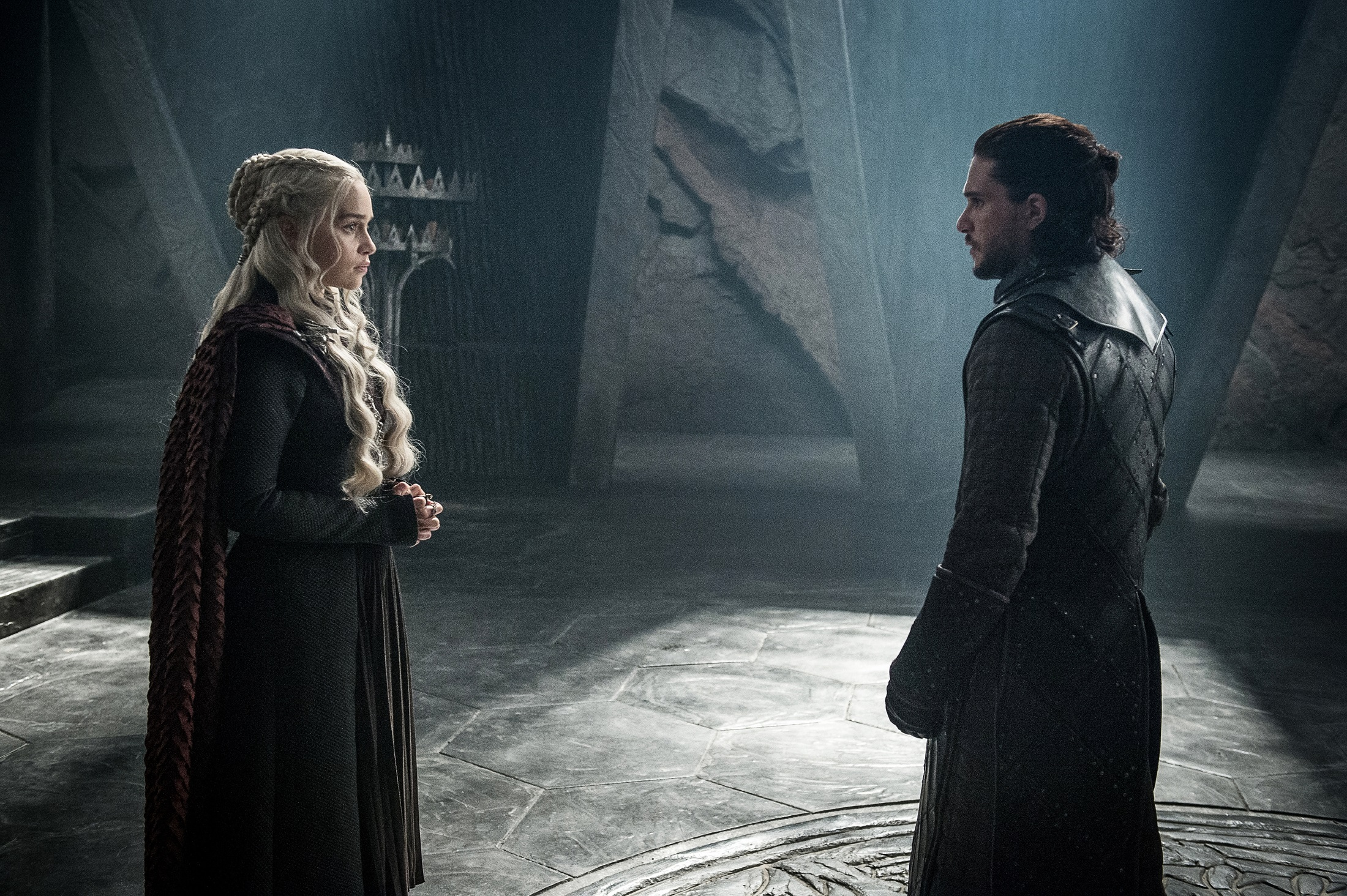Jon Snow meets Daenerys The Queen's Justice