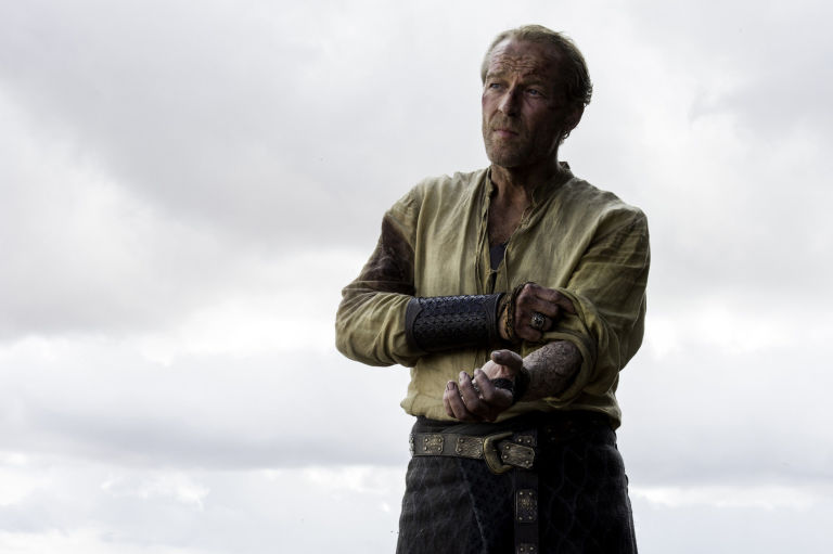 Jorah Mormont Greyscale Game of Thrones