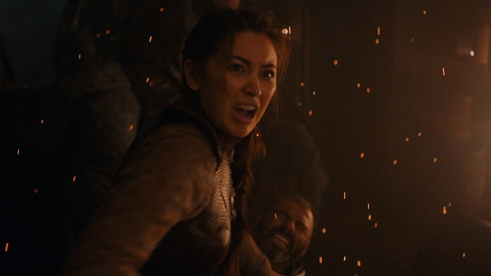 Nymeria Sand on Game of Thrones