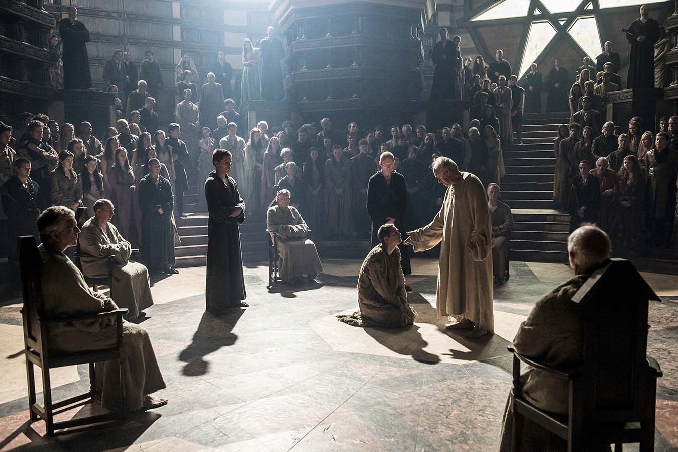The Winds of Winter trial scene