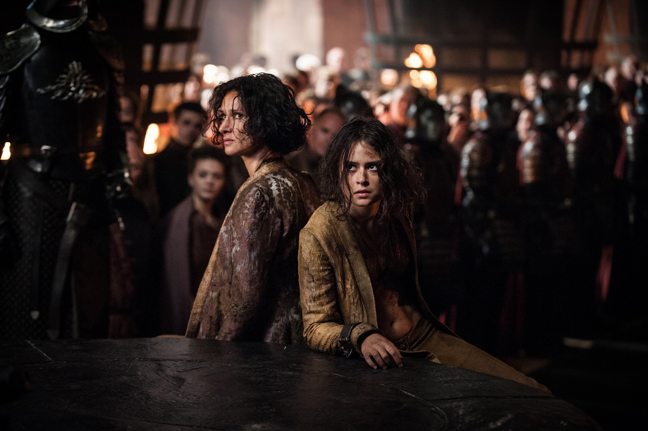 Tyrene and Ellaria Sand The Queen's Justice