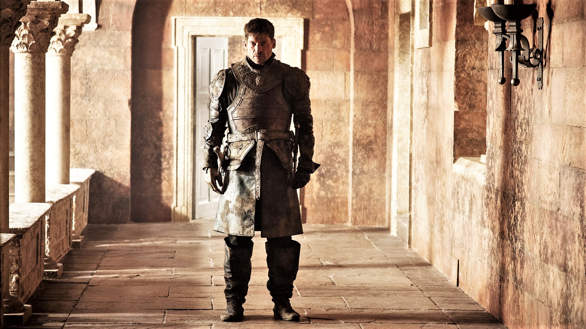 Jaime Lannister pondering whether or not he'll have to cancel his credit cards.