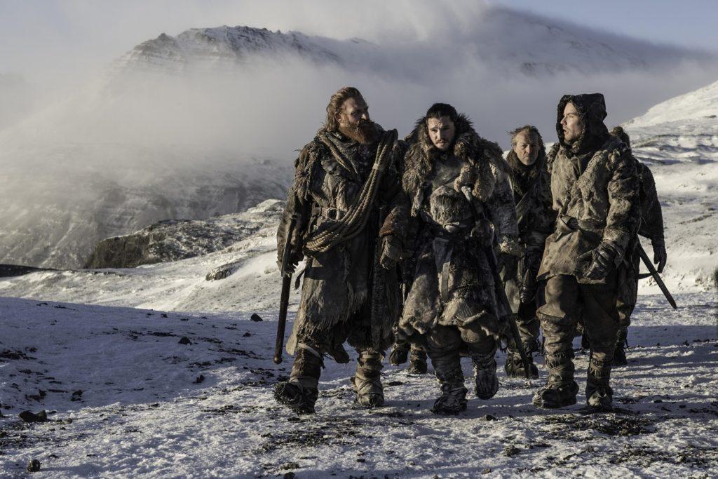 706 - Beyond - Jon, Tormund, Gendry, Jorah, Thoros 2