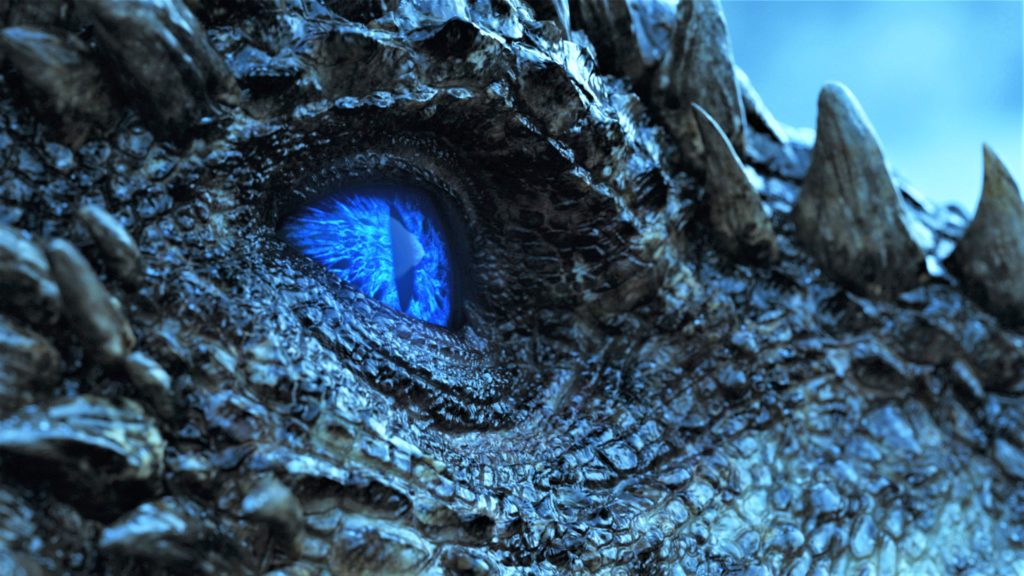 706 - Beyond the Wall - Frozen Lake - Wight Viserion