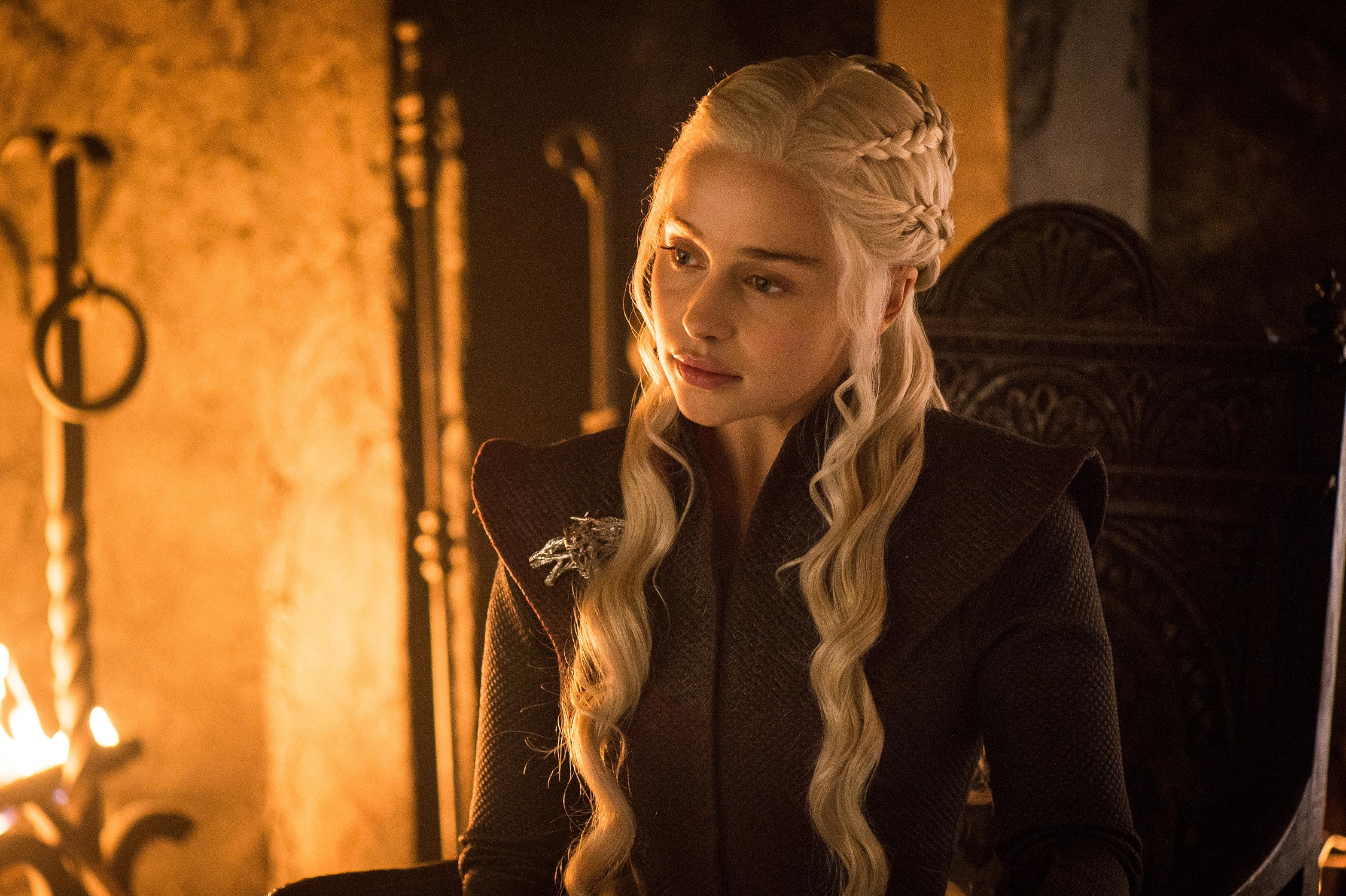 20 new photos from game of thrones season 7 episode 6 for Daenerys jewelry season 7