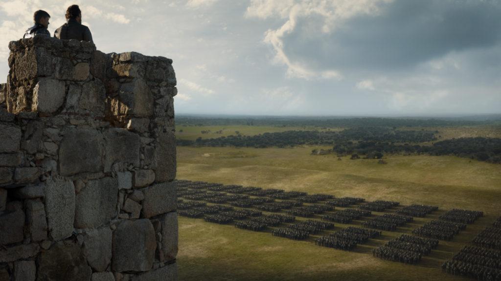707 - King's Landing - Jaime, Bronn, Unsullied 1