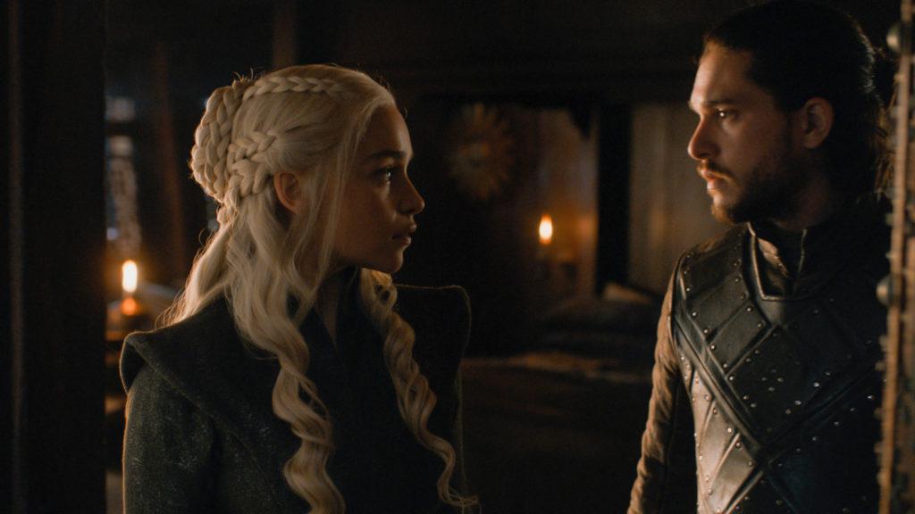 707 - Ship - Daenerys, Jon 1