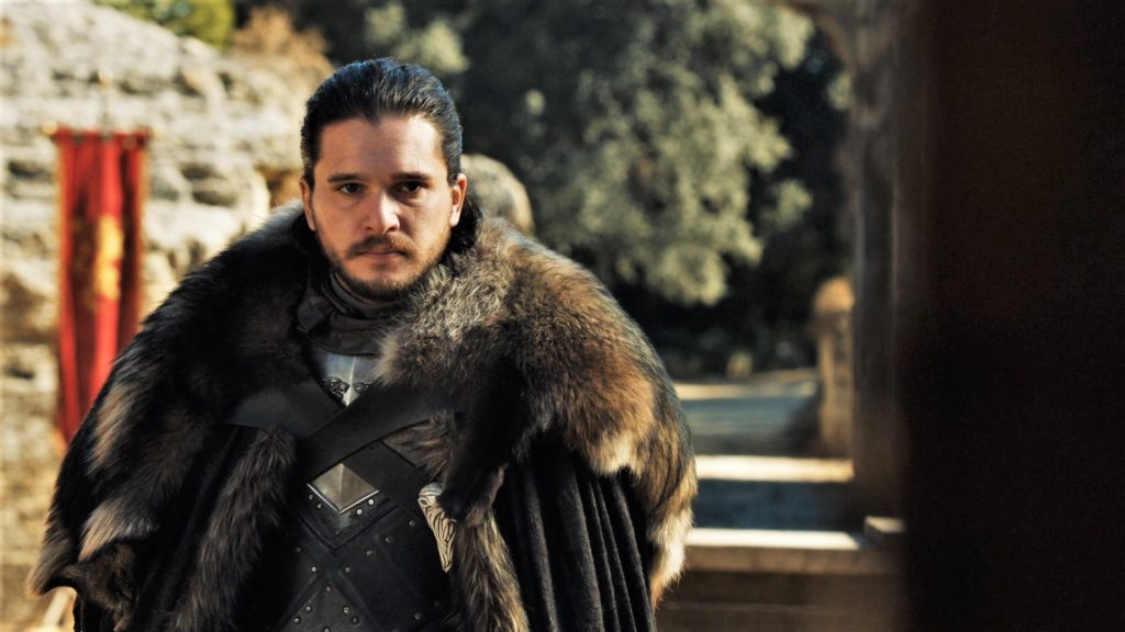 Jon Snow being in this location means there are mild spoilers ahead!