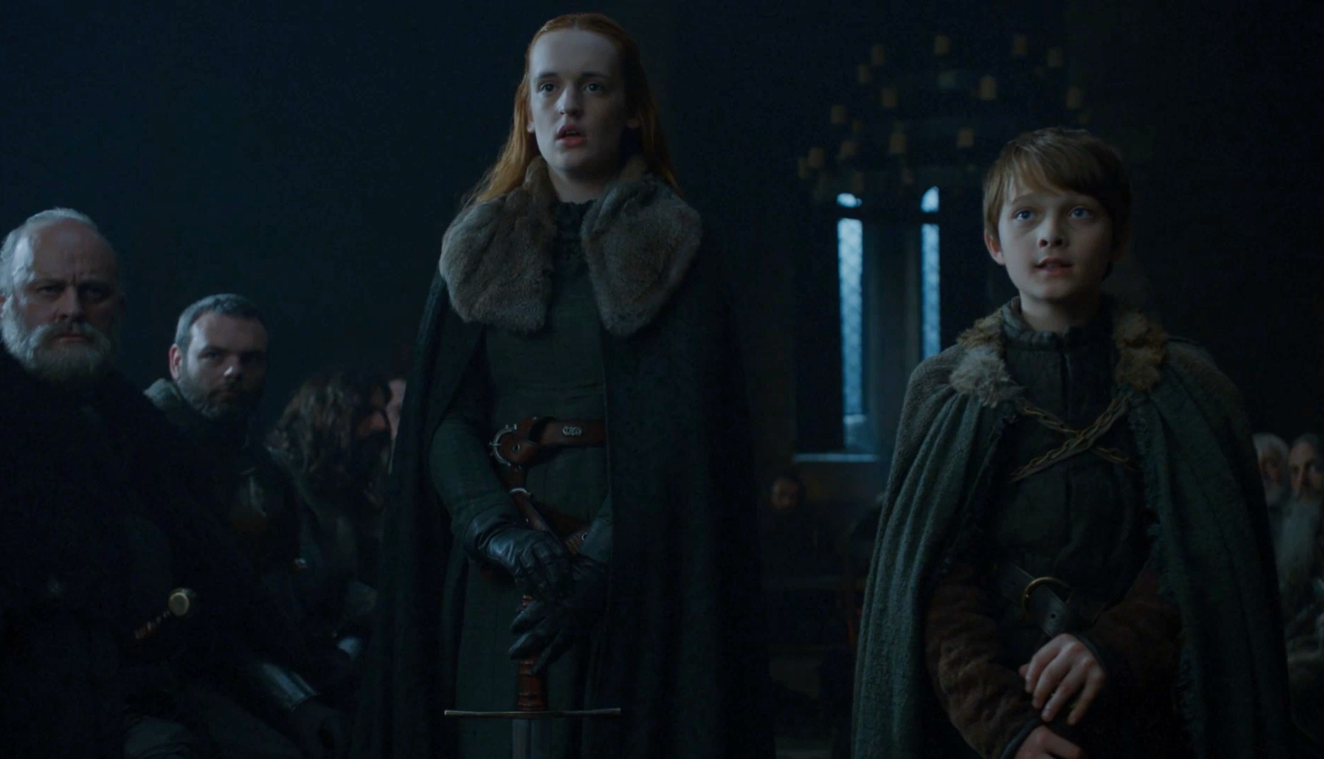 Alys and Ned Game of Thrones