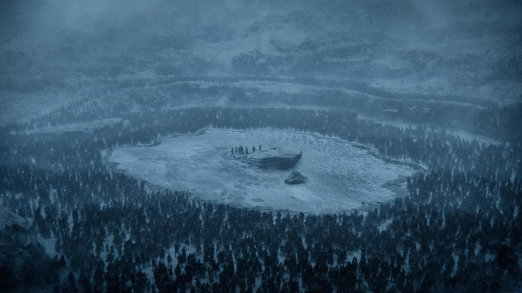 Frozen Lake Beyond the Wall game of thrones