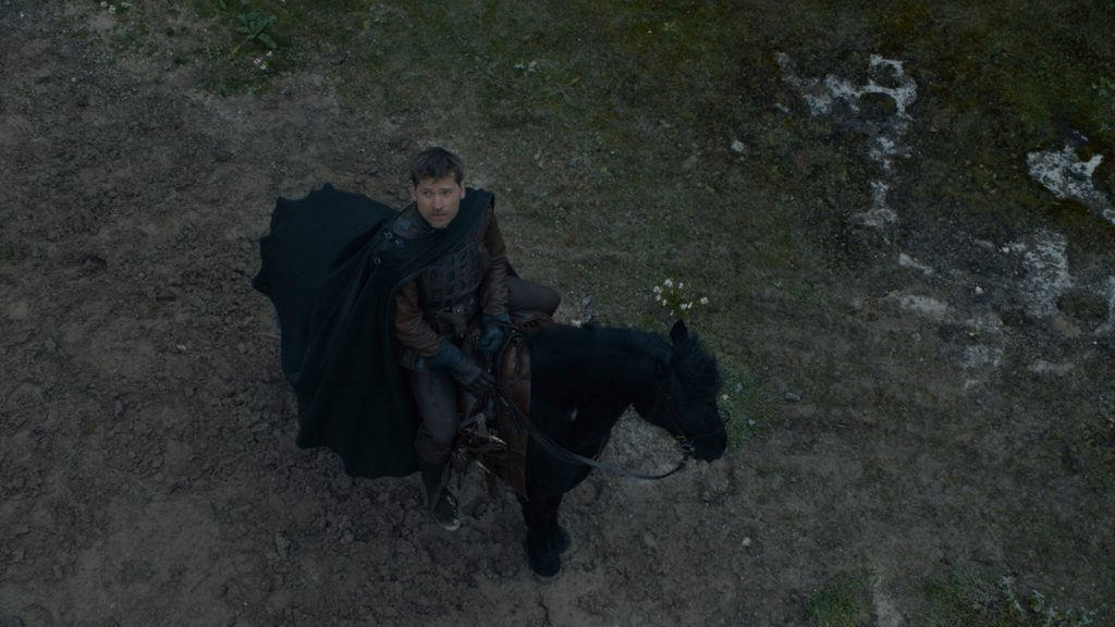 Jaime Lannister leaves episode 707