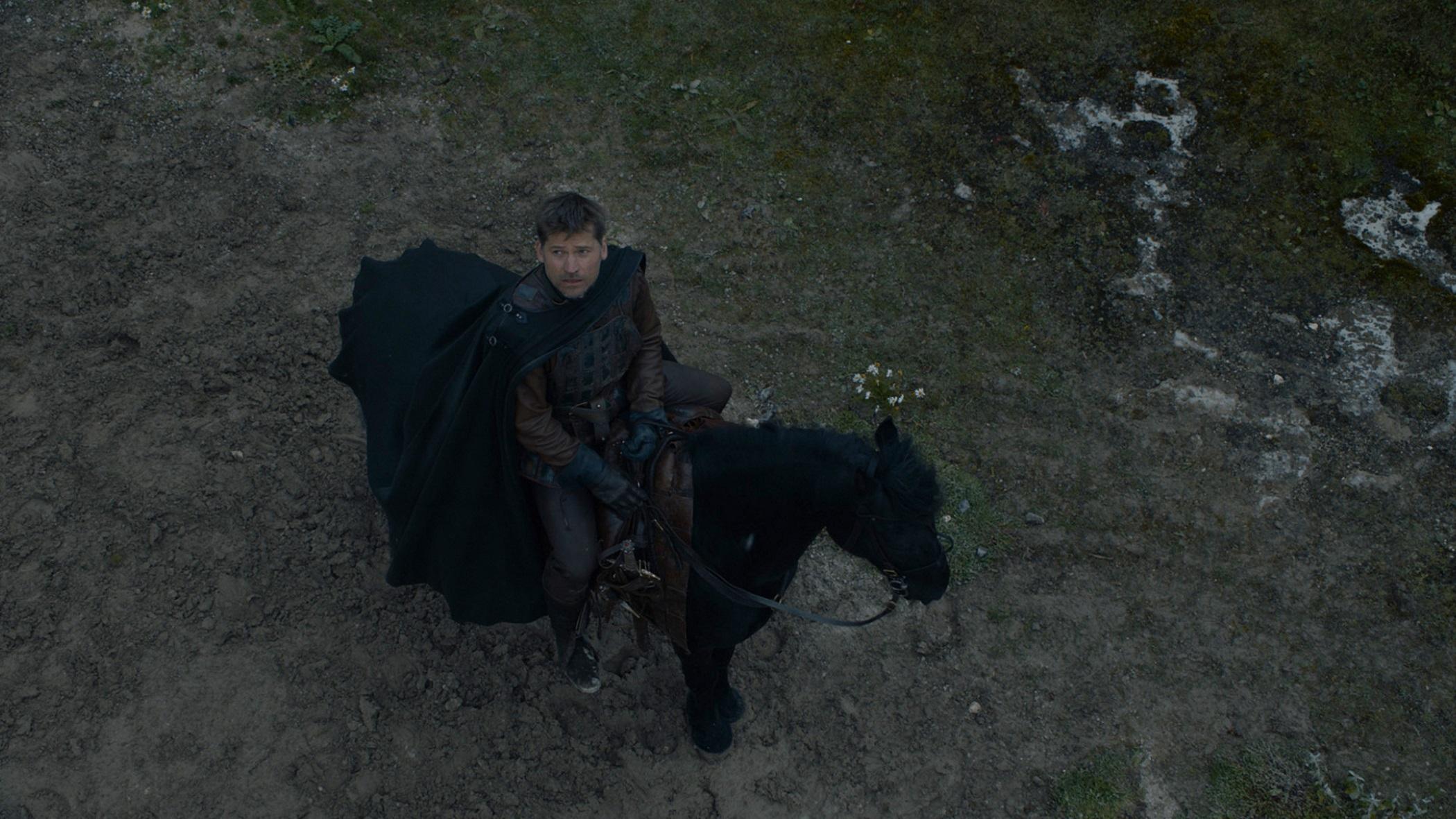 Jaime Lannister leaves episode 707