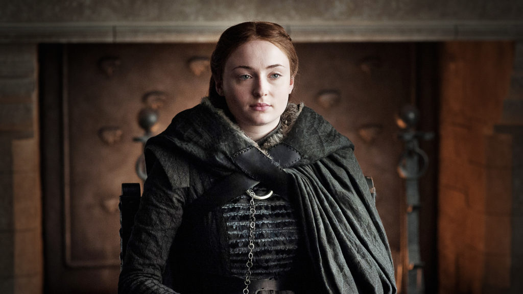 Sansa The Dragon and the Wolf