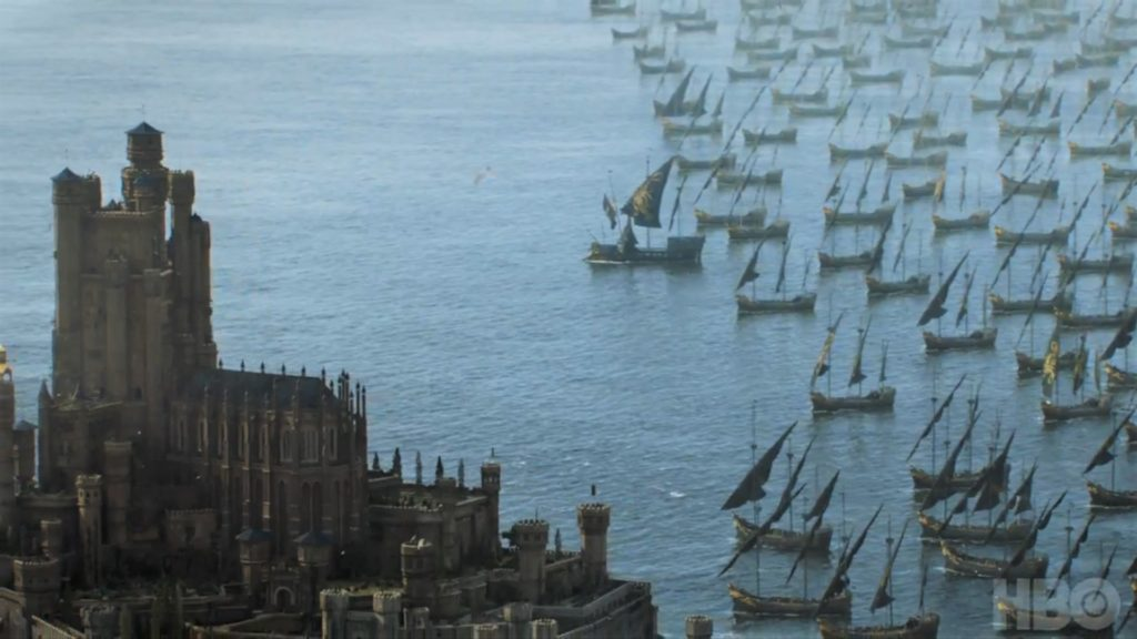King's Landing Red Keep Euron Fleet   Season 7 707