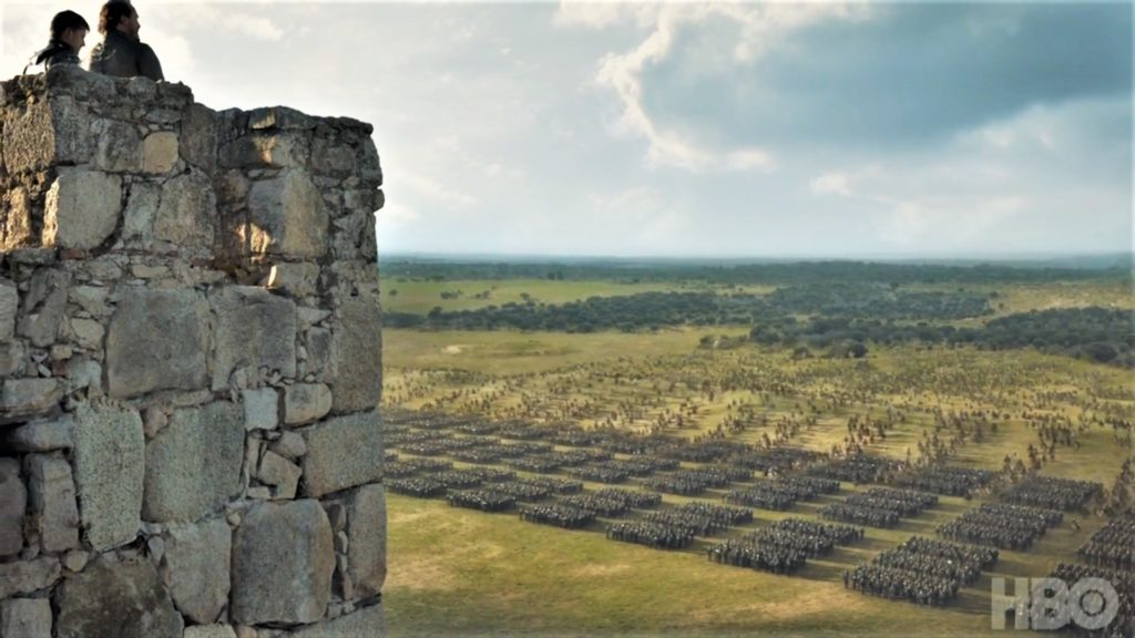 Jaime Bronn King's Landing Unsullied Dothraki Season 7 707