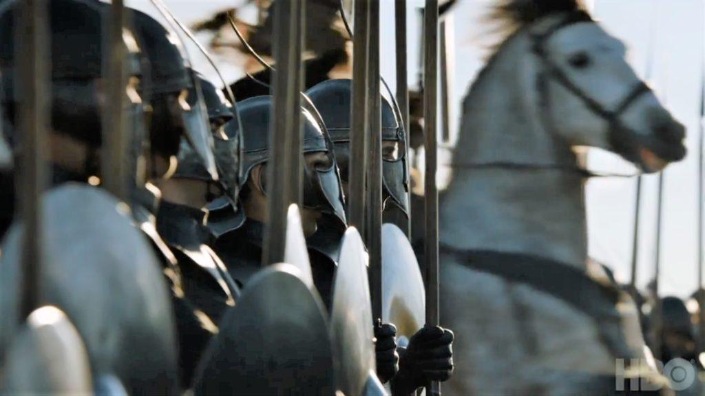 Unsullied Dothraki Season 7 707