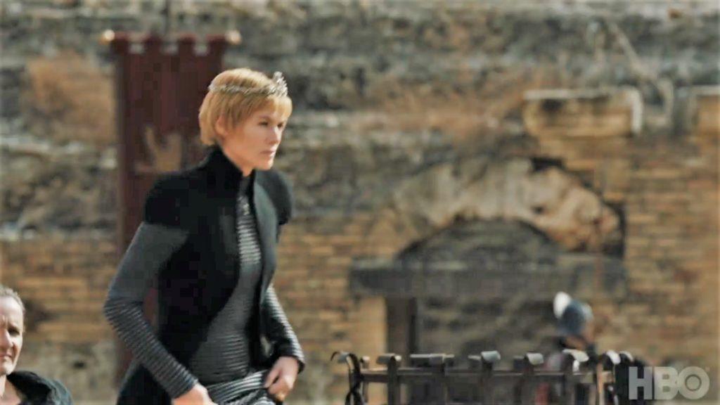 Cersei Qyburn King's Landing Dragonpit Season 7 707