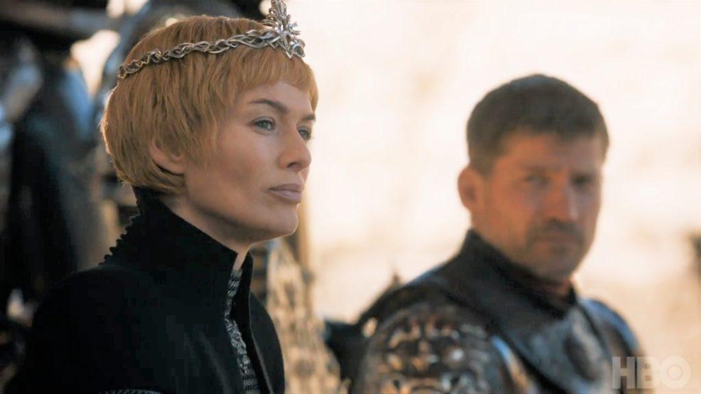 Cersei Jaime King's Landing Dragonpit Season 7 707