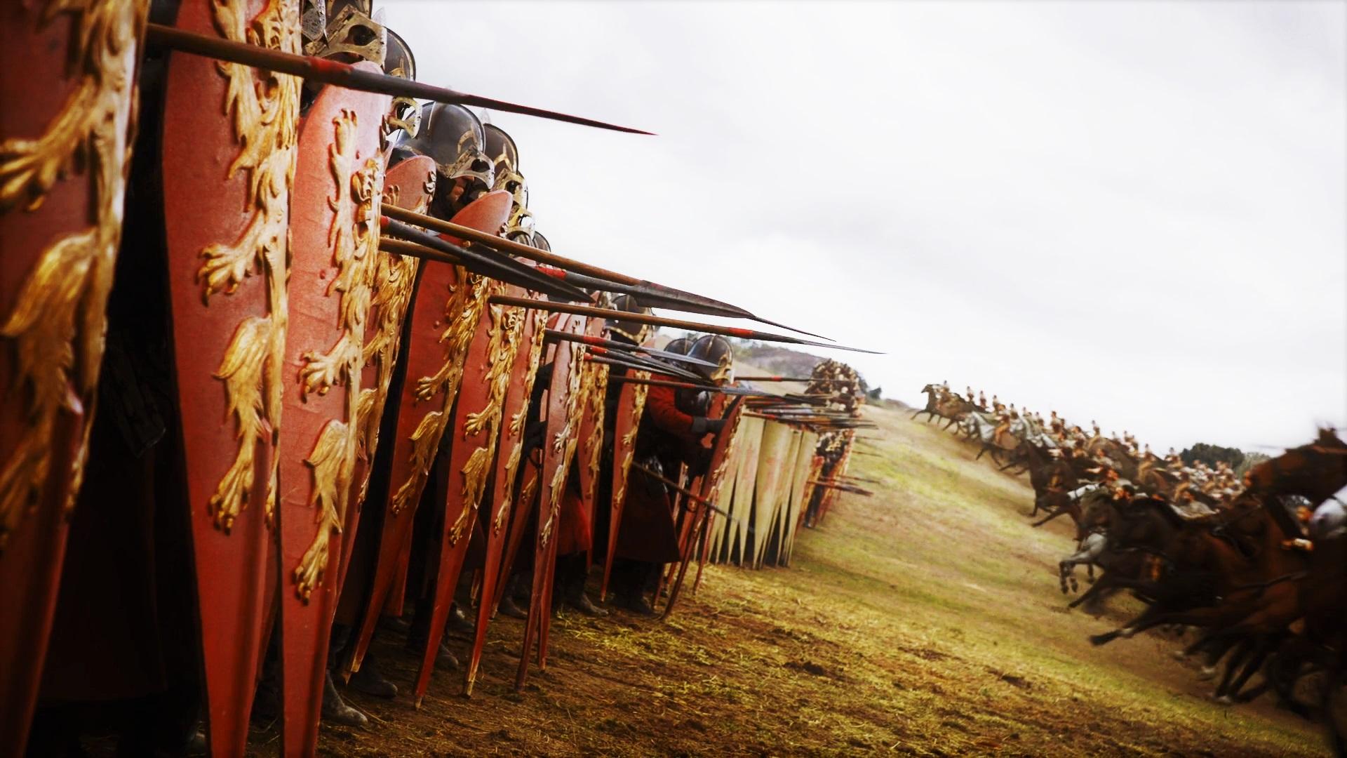 Highgarden Field of Fire 7x04 (17) Lannister Tarly Dothraki