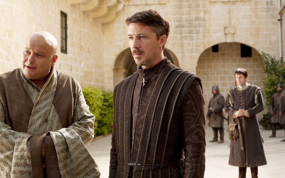Littlefinger Varys season 1