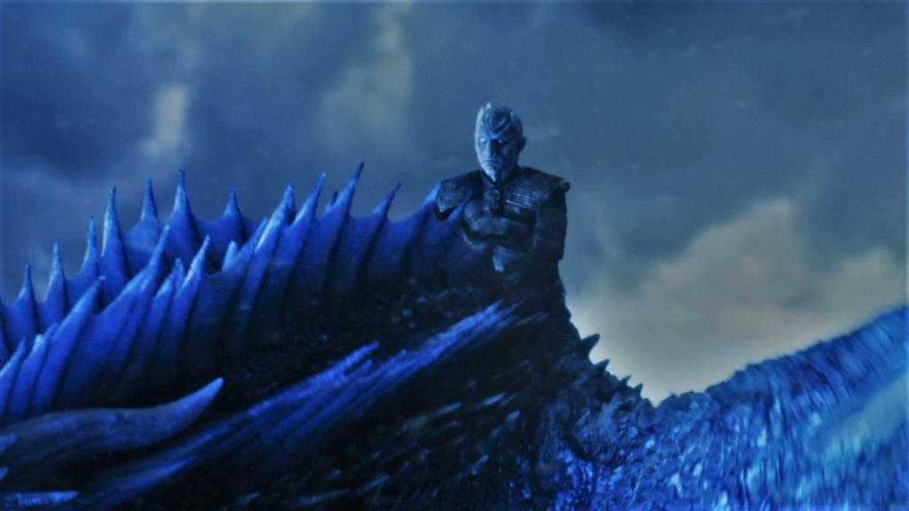 Wall - Eastwatch Breach 7x07 (18) Night King Viserion