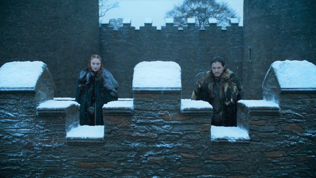 Sansa Jon Winterfell 6x10
