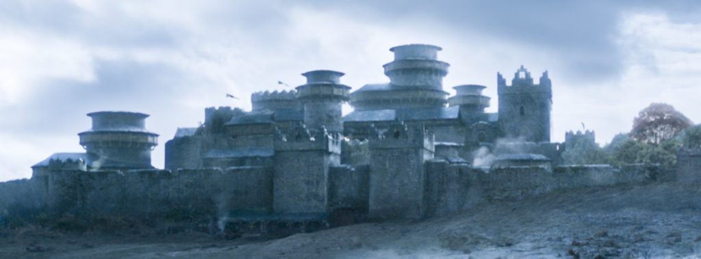 Winterfell as it looked in season six