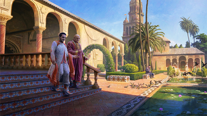 """""""Intrigue in Dorne"""" by 1oshuart"""