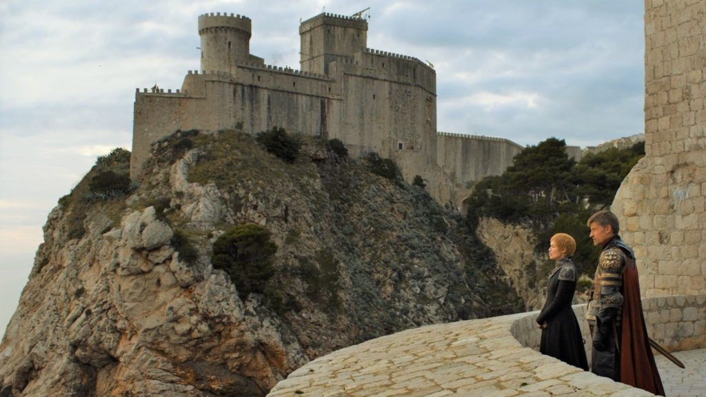 """The Old City of Dubrovnik as seen in Season 7, Episode 1, """"Dragonstone"""""""