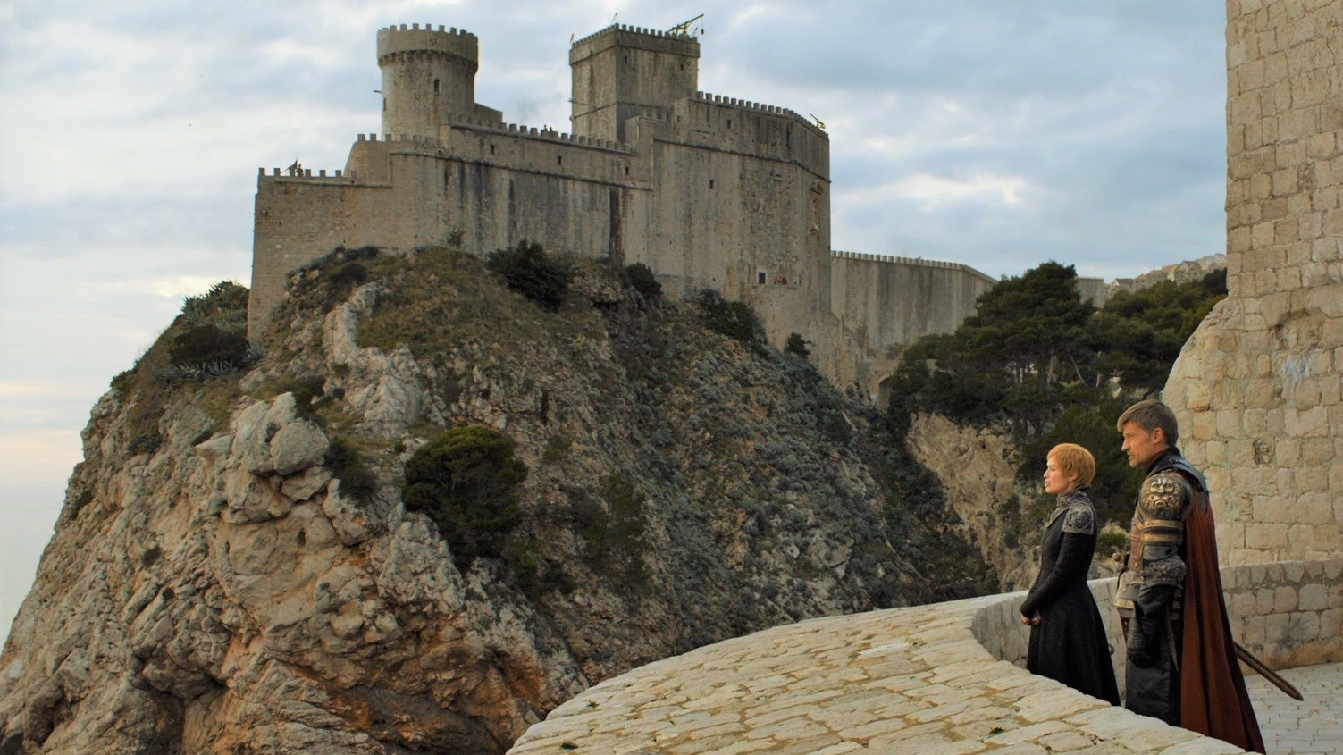 Game Of Thrones Arrives In Dubrovnik Croatia For Imminent