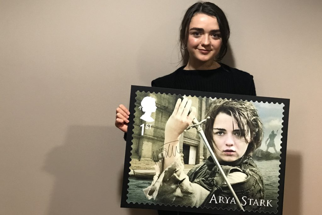 Maisie Williams Stamps