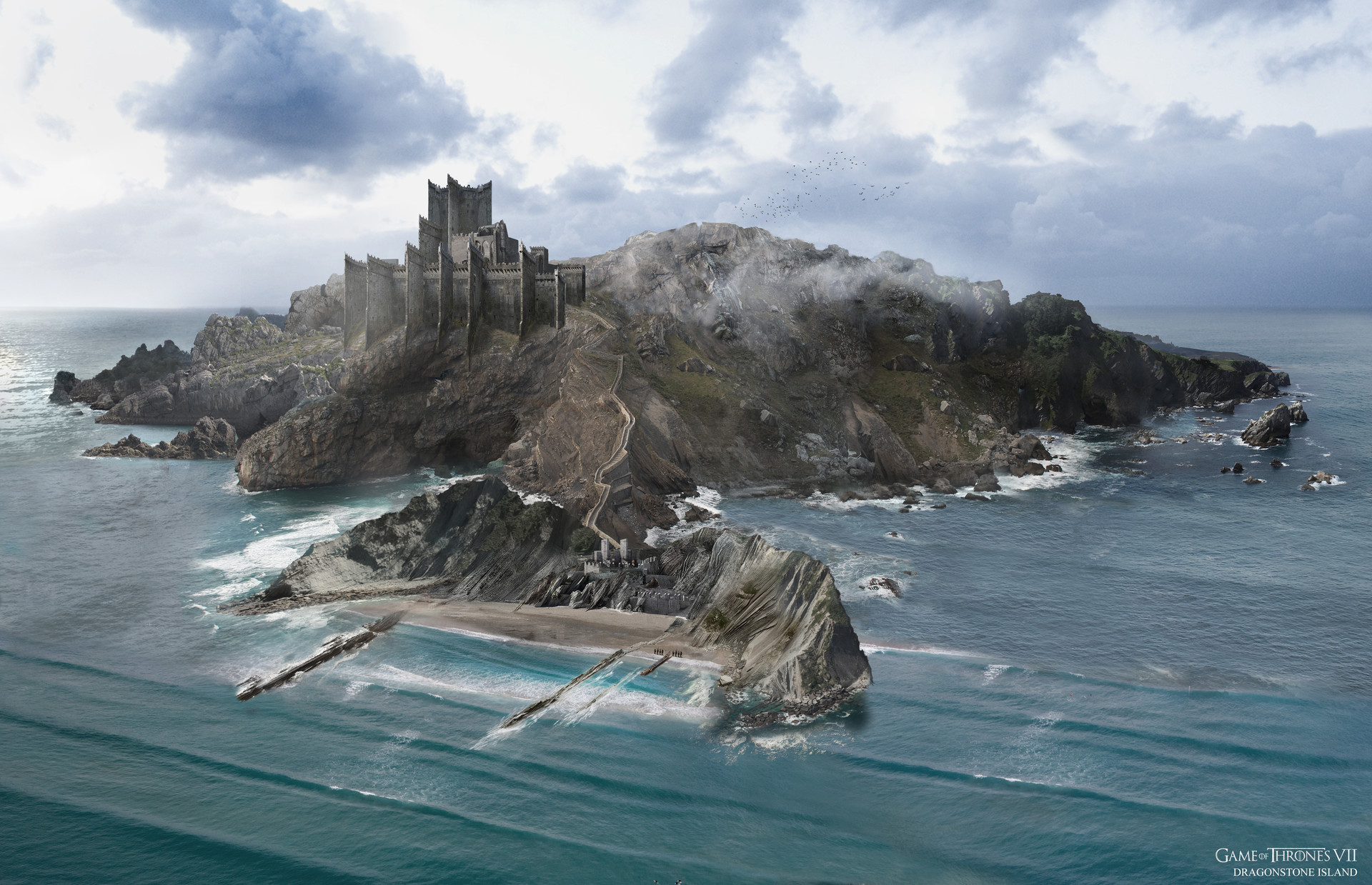 The Amazing Concept Art Of Game Of Thrones Season 7 Part 2