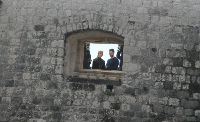 Headey and Weiss share a laugh. Photo: Ivana Smilović / Dubrovnik Times