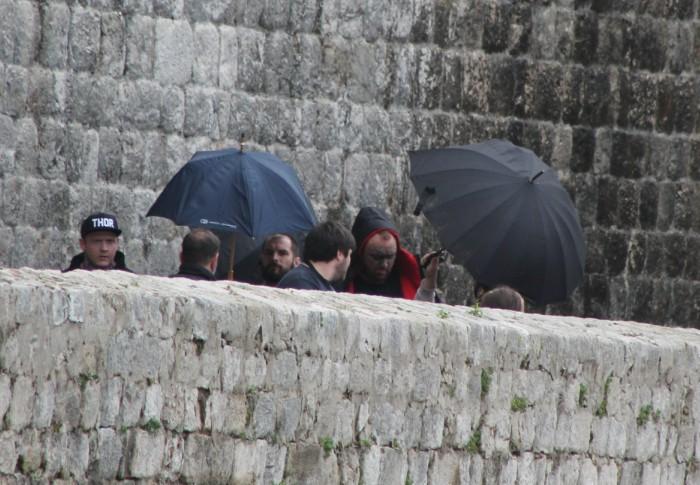Hafþór Björnsson can't hide from the cameras. Photo: Ivana Smilović / Dubrovnik Times