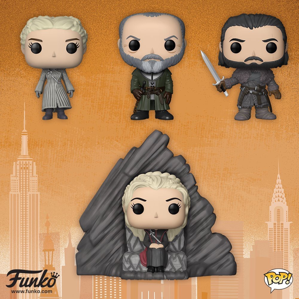 Funko Reveals New Game Of Thrones Pops At Toy Fair 2018