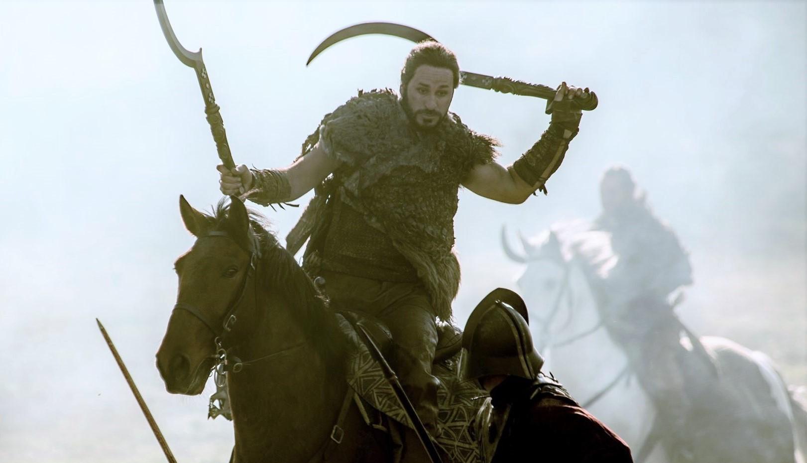 "We last saw the Dothraki horde fighting in full force in ""The Spoils of War"""